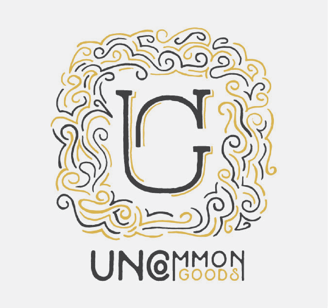 Uncommon Goods | Student Work - Branding, Design