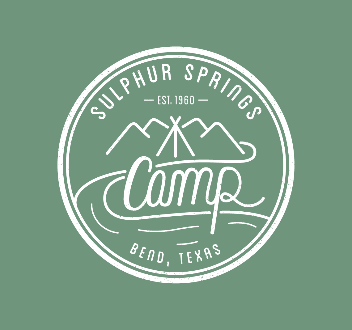 Sulphur Springs Camp | Logo & Merch Design