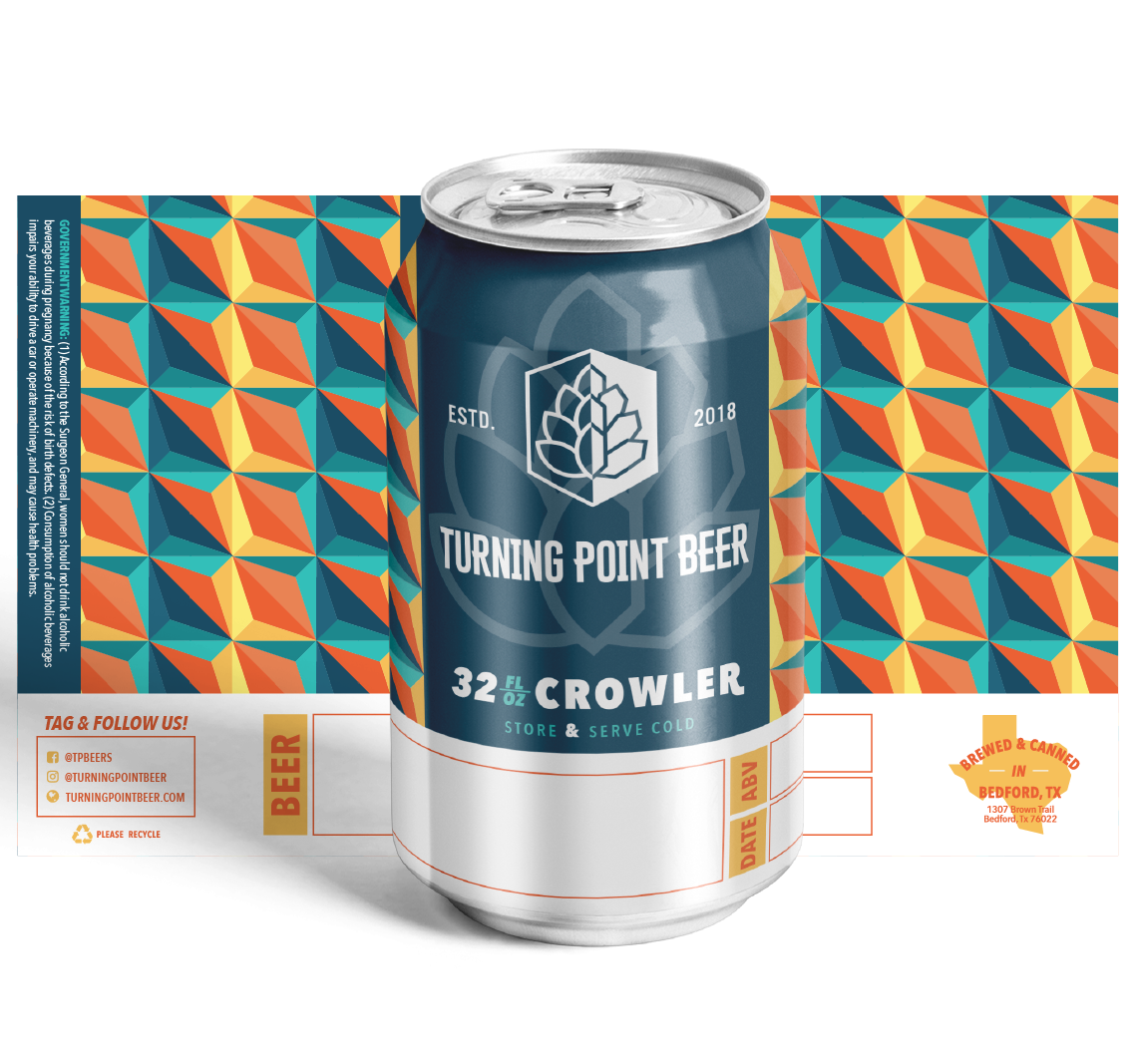 Turning Point Beer - Package Design