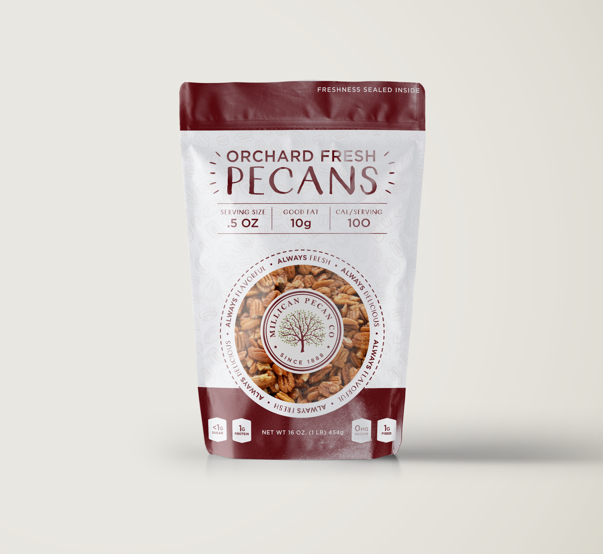 Millican Pecan Co. | Packaging & Re-branding