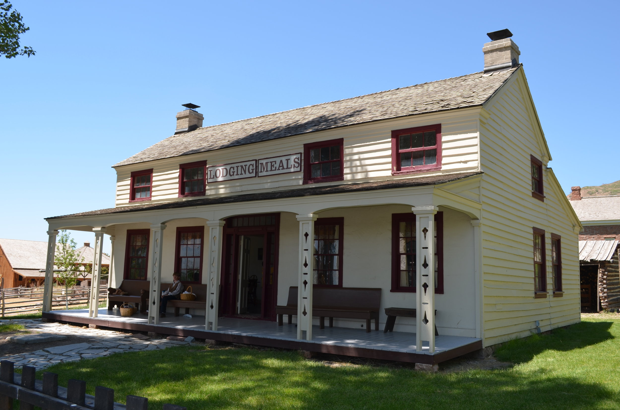 Andrus Halfway House and Farm