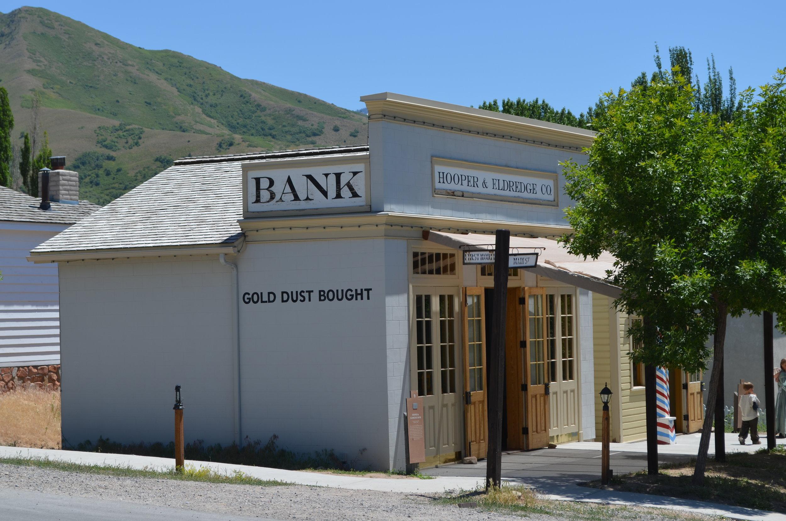 Hooper and Eldredge Bank
