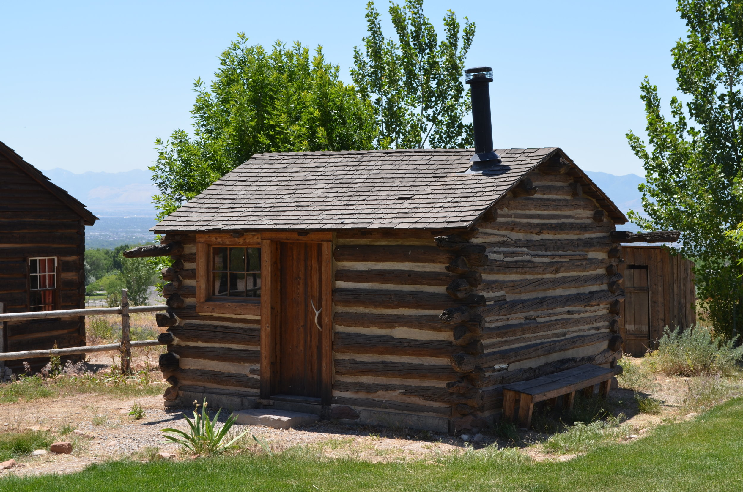 Richard and Mary Goble Pay Cabin