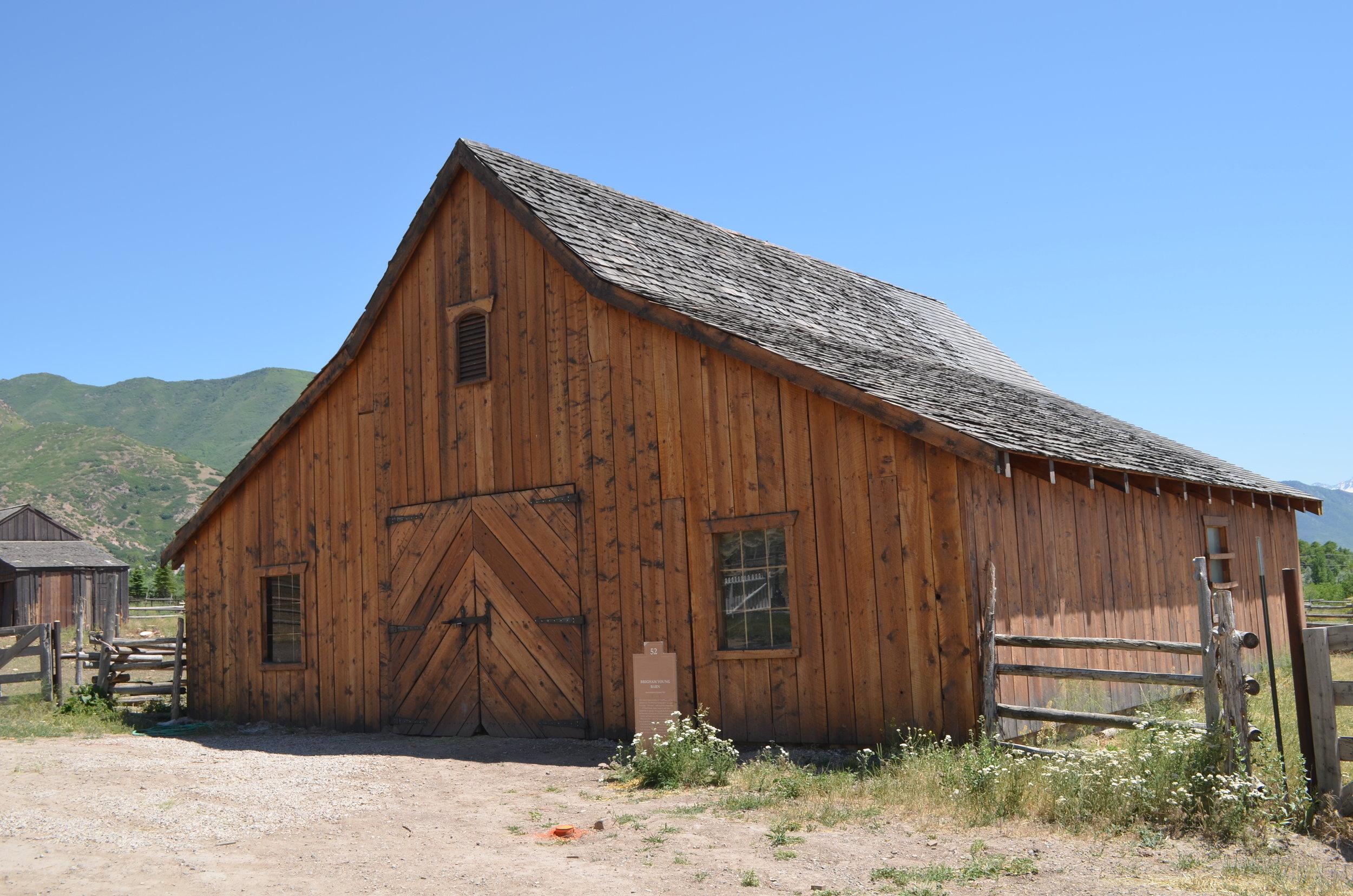 Brigham Young Barn