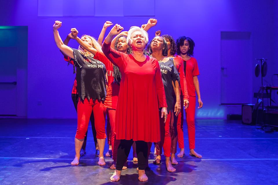 The Medea Project: Theater for Incarcerated Women, photo by Thatcher Hayward