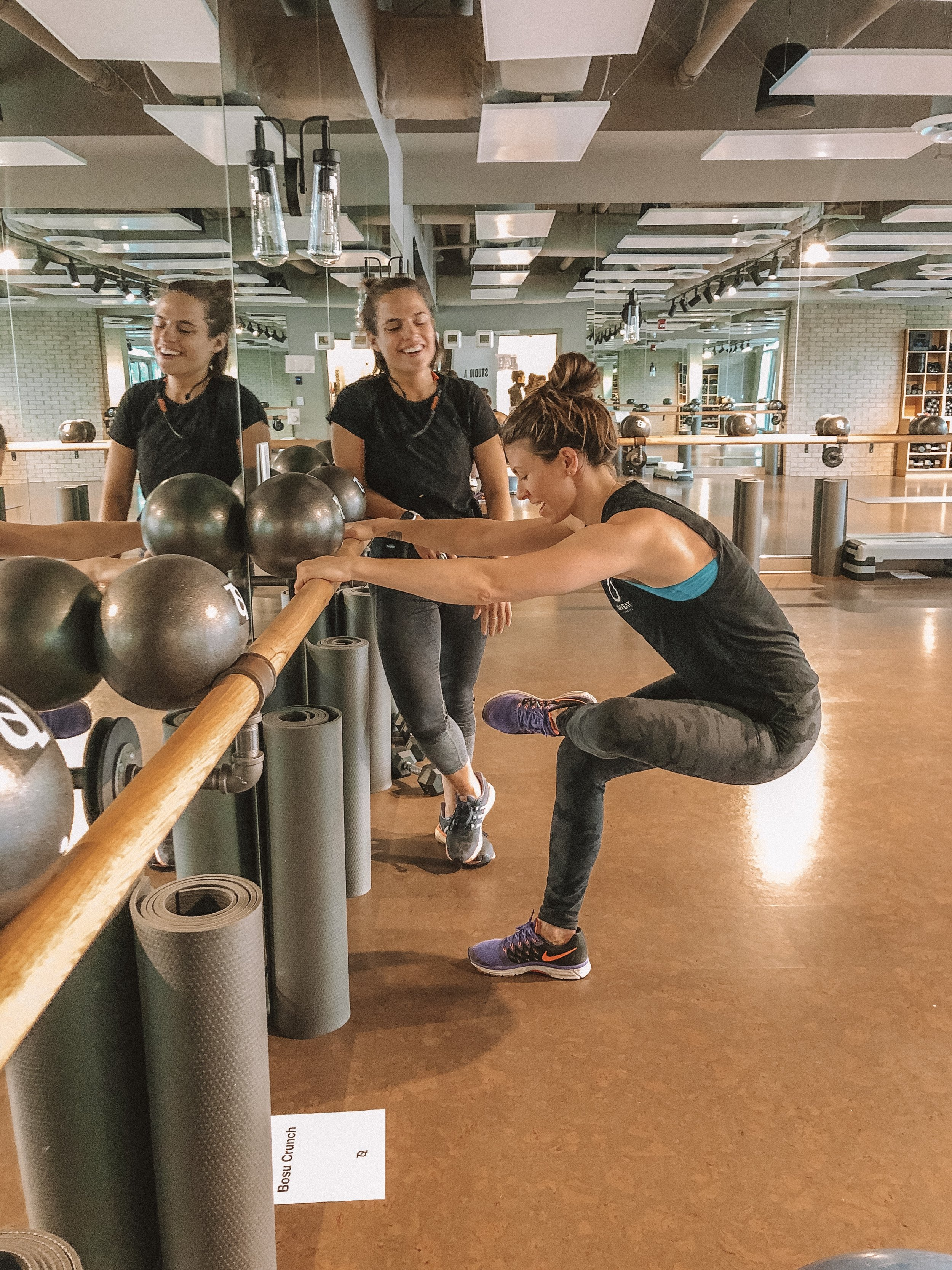 Building muscle at The Sweat Lab in North Vancouver