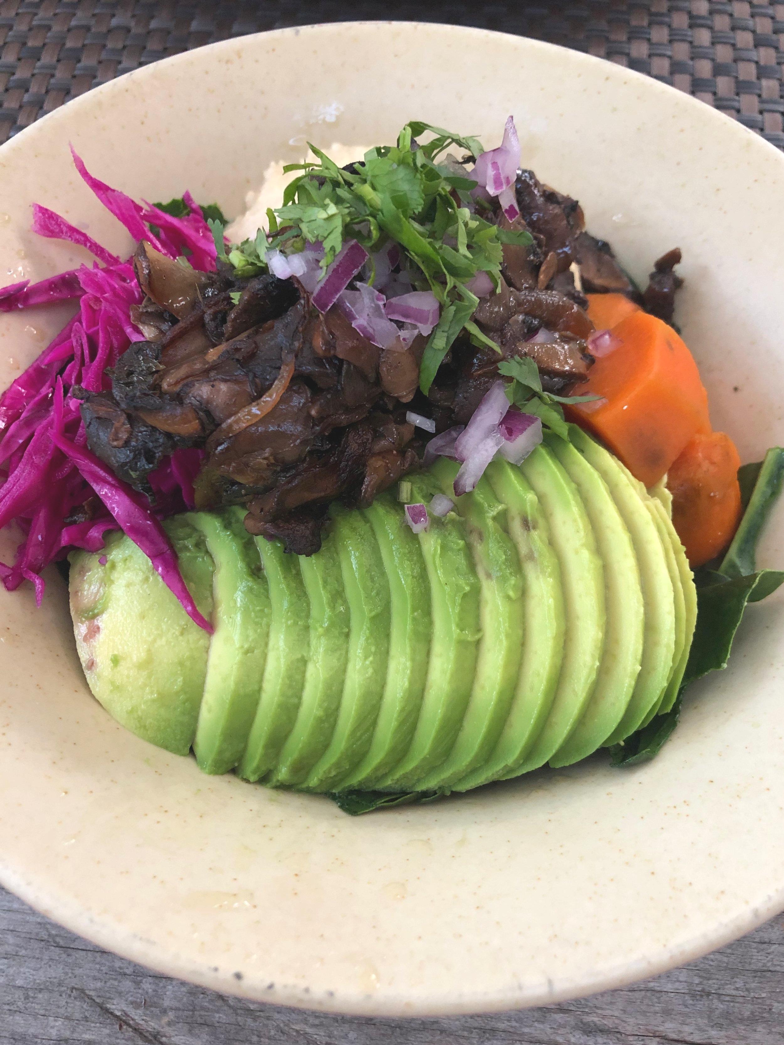 Craving veggies - salad from Charly's Vegan Tacos