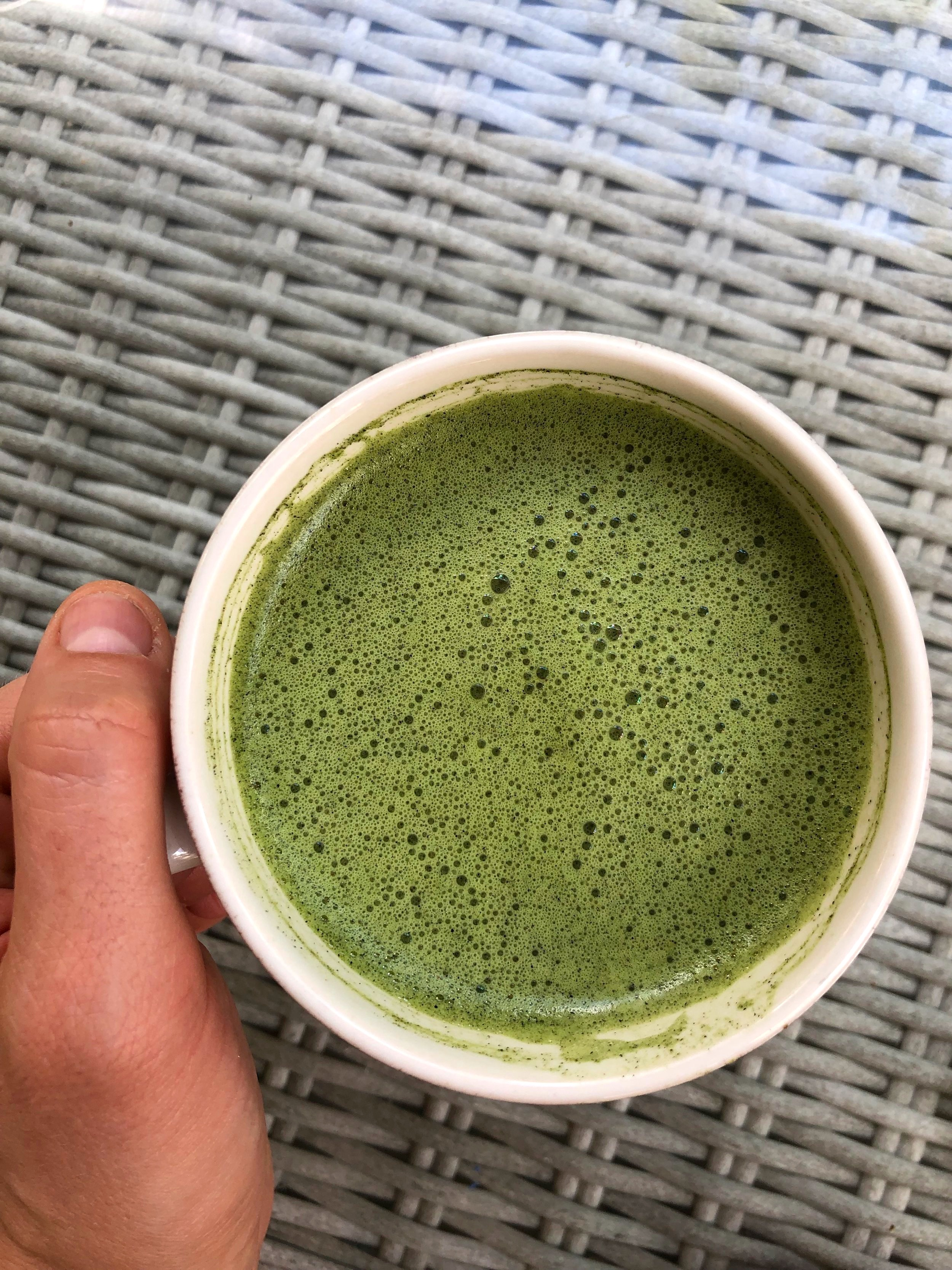 Matcha in Mexico, bought it with me!