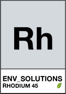 Rhodium Rh 45  Environmental Solutions Asia
