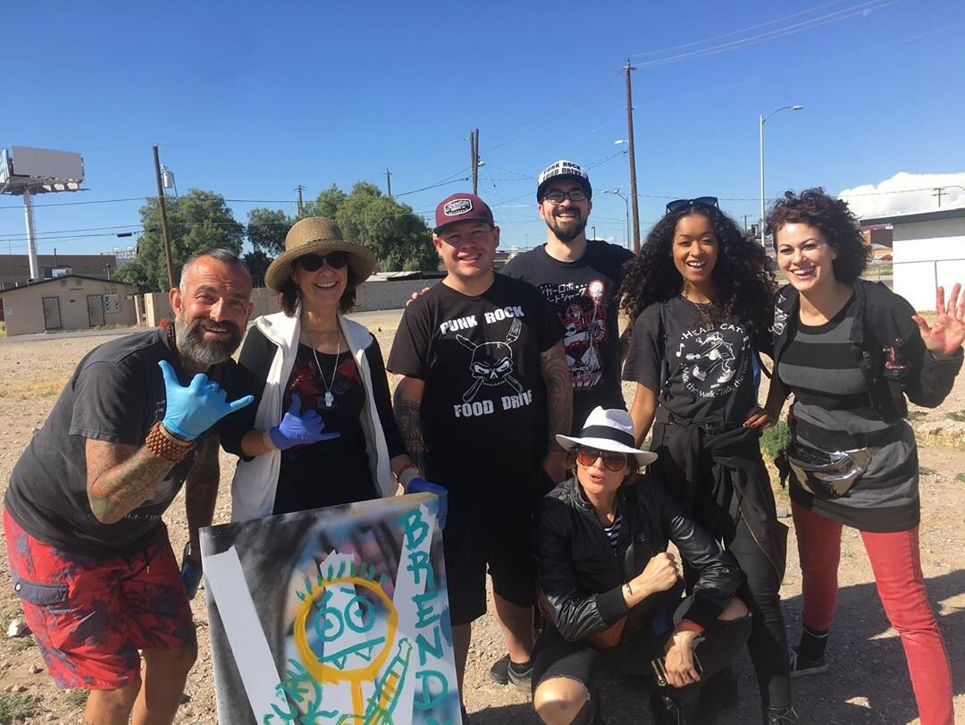 - PRFD with The Sidewal Project - Las Vegas Outreach event - Punk Rock Bowling Weekend 2019