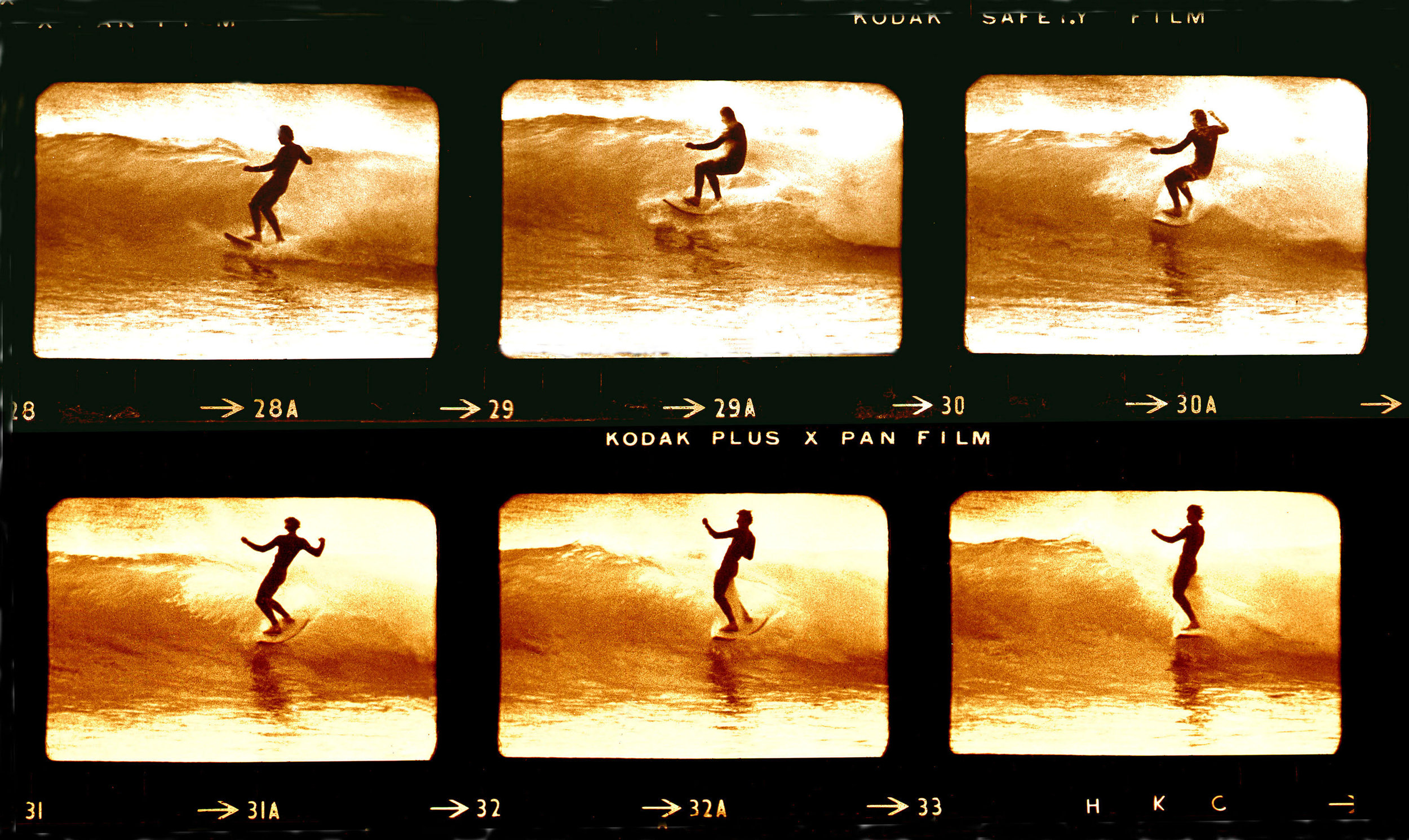 Sequence of Baddy at Angourie, 1971    This is Baddy surfing at Angourie during the filming of Morning of the Earth. We surfed there a lot mainly with Baddy and Stephen Cooney…..We had it to ourselves most of the time….