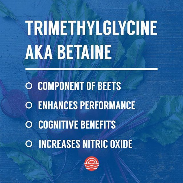 Meet TMG, a powerful naturally occurring amino acid derivative found in beets. Studies have shown it to be a great way to boost an athletes performance through its ability to help one increase their nitric oxide levels. This allows for blood vessels to vasodilate (widen), resulting in increased blood flow to the muscles - giving you the push to complete a few more repetitions otherwise not possible. Our flagship product, Boost, offers 1.5 grams of TMG per serving. Grab yours online now and get free shipping for a limited time only.