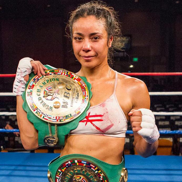 Miriam Nakamoto  Instagram: @miriamnakamoto  8x Muay Thai World Champ