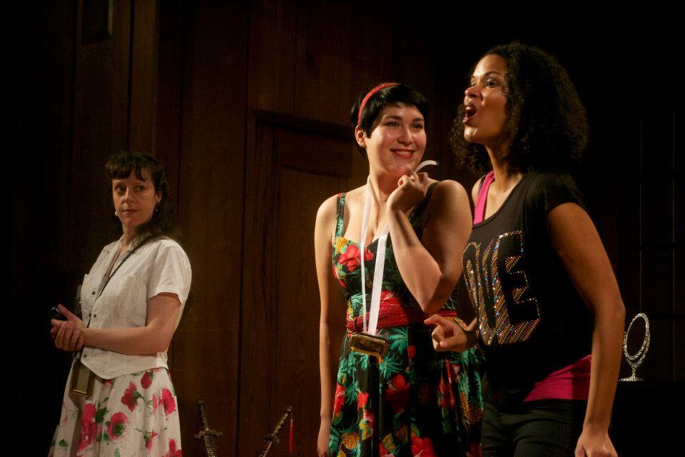 Despina in  Cosi Fan Tutte  with Berkeley Chamber Opera, November 2013.