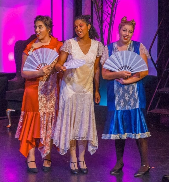 Yum-Yum in  The Mikado  with North Bay Stage Company, July 2016.