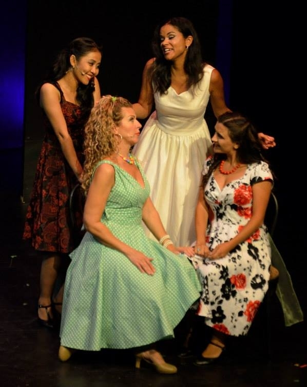 Maria in  West Side Story  with North Bay Stage Company, July 2015.