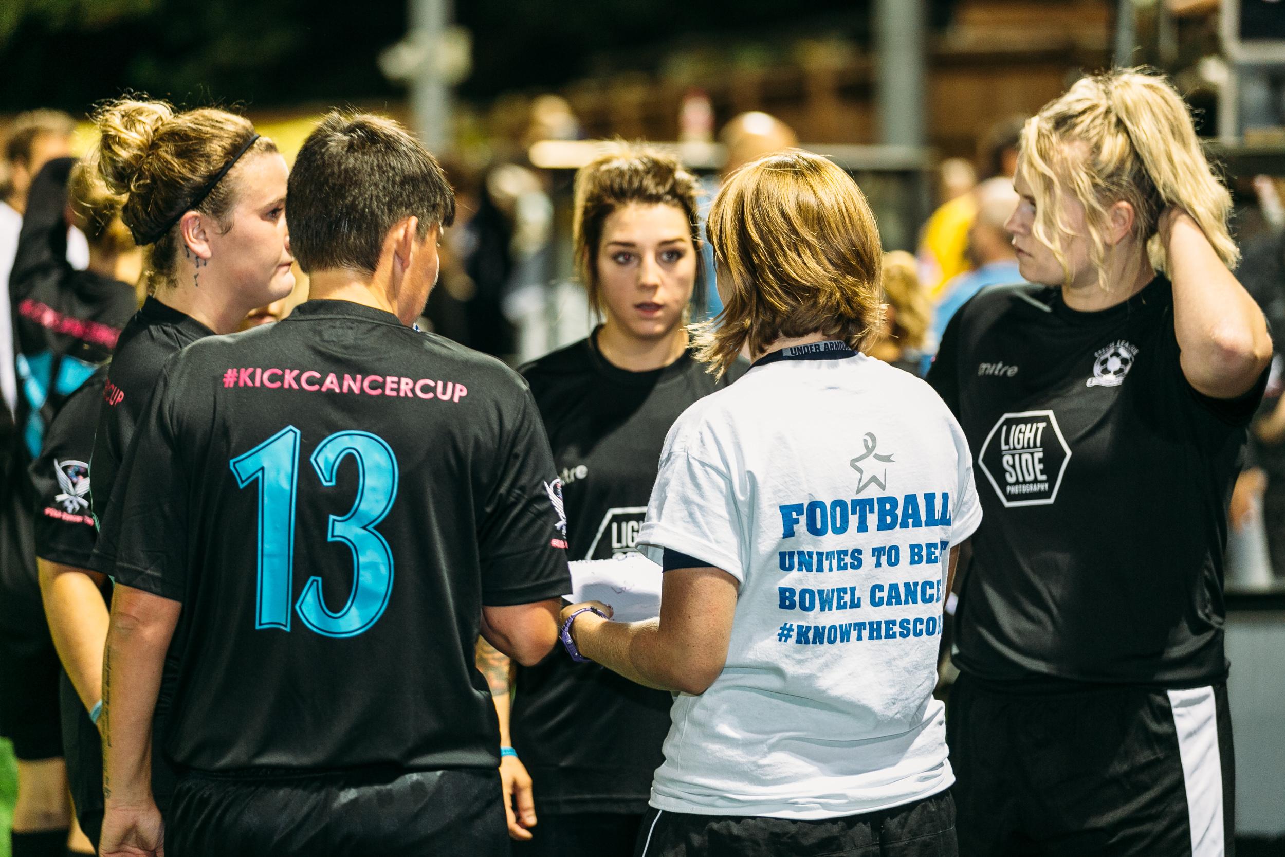 Kick Cancer Cup, Cambridge, 2016