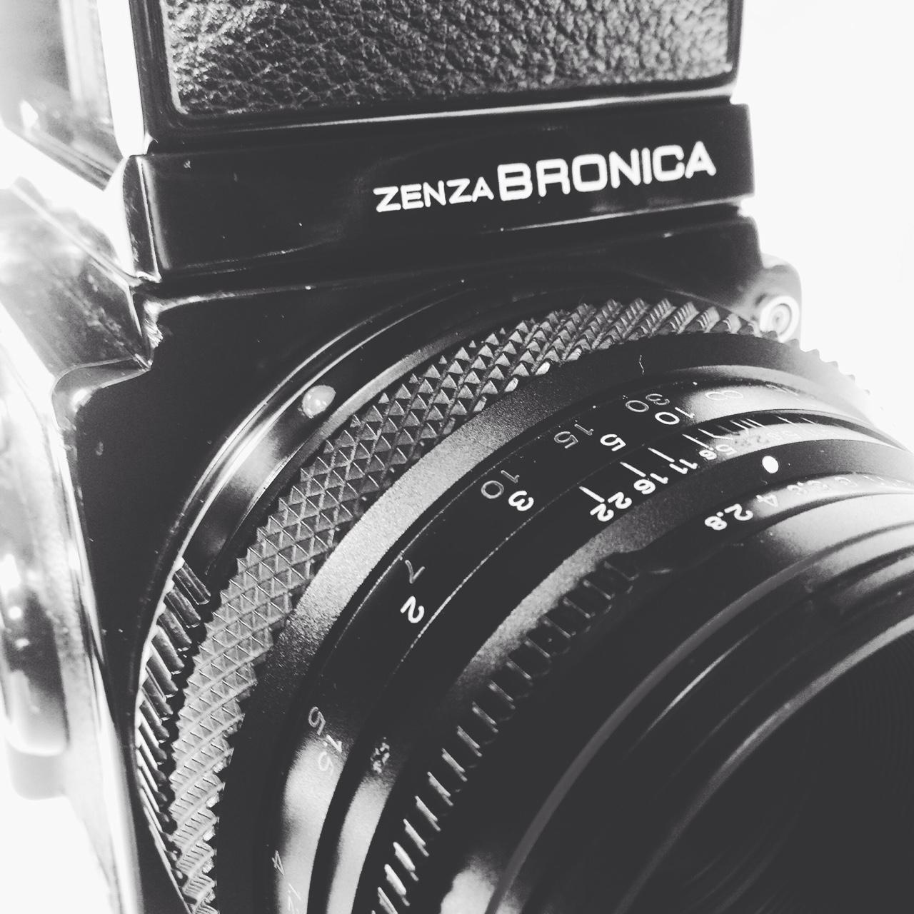 Bronica Zenza film camera