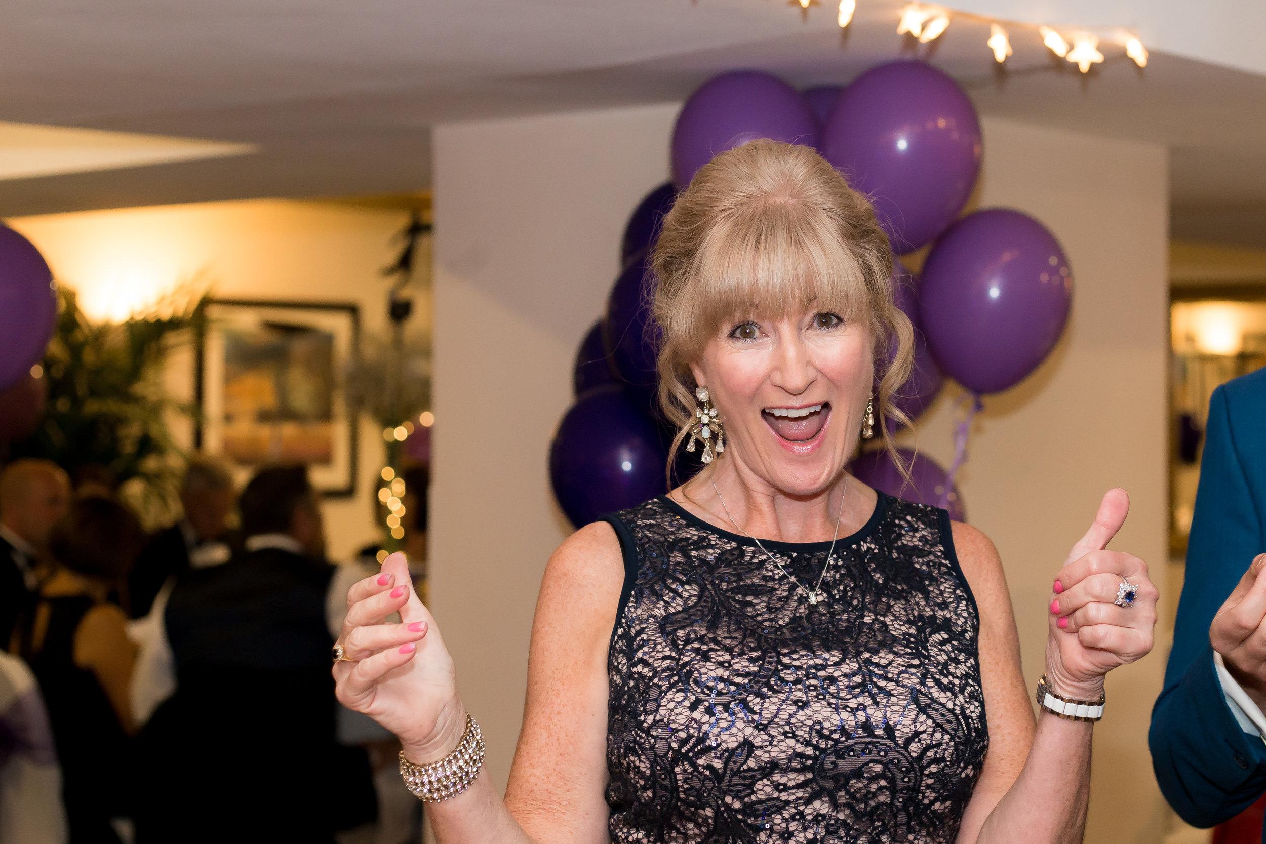 Sue Isaacson charity ball cambridge