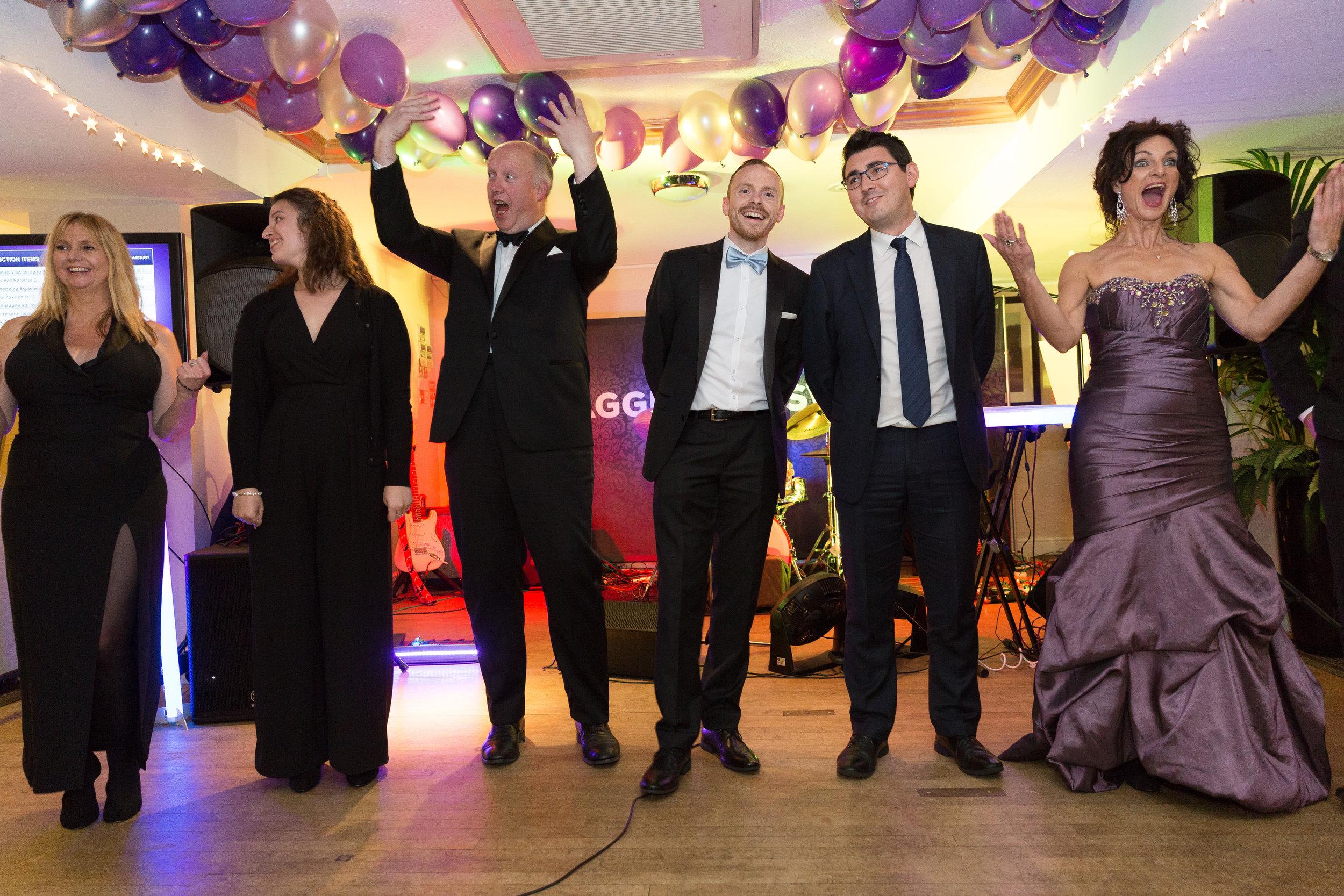 Kick cancer charity ball