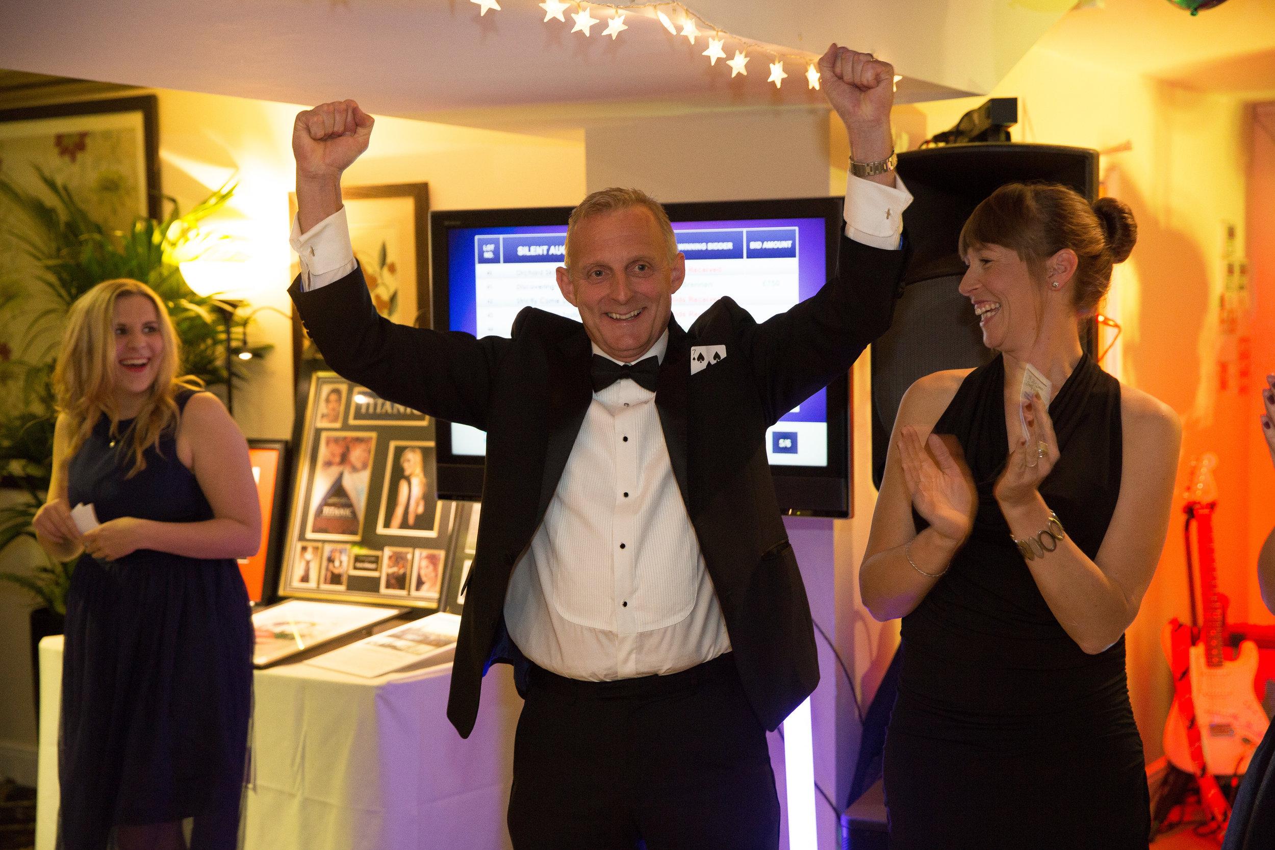 kick cancer charity ball cambridge