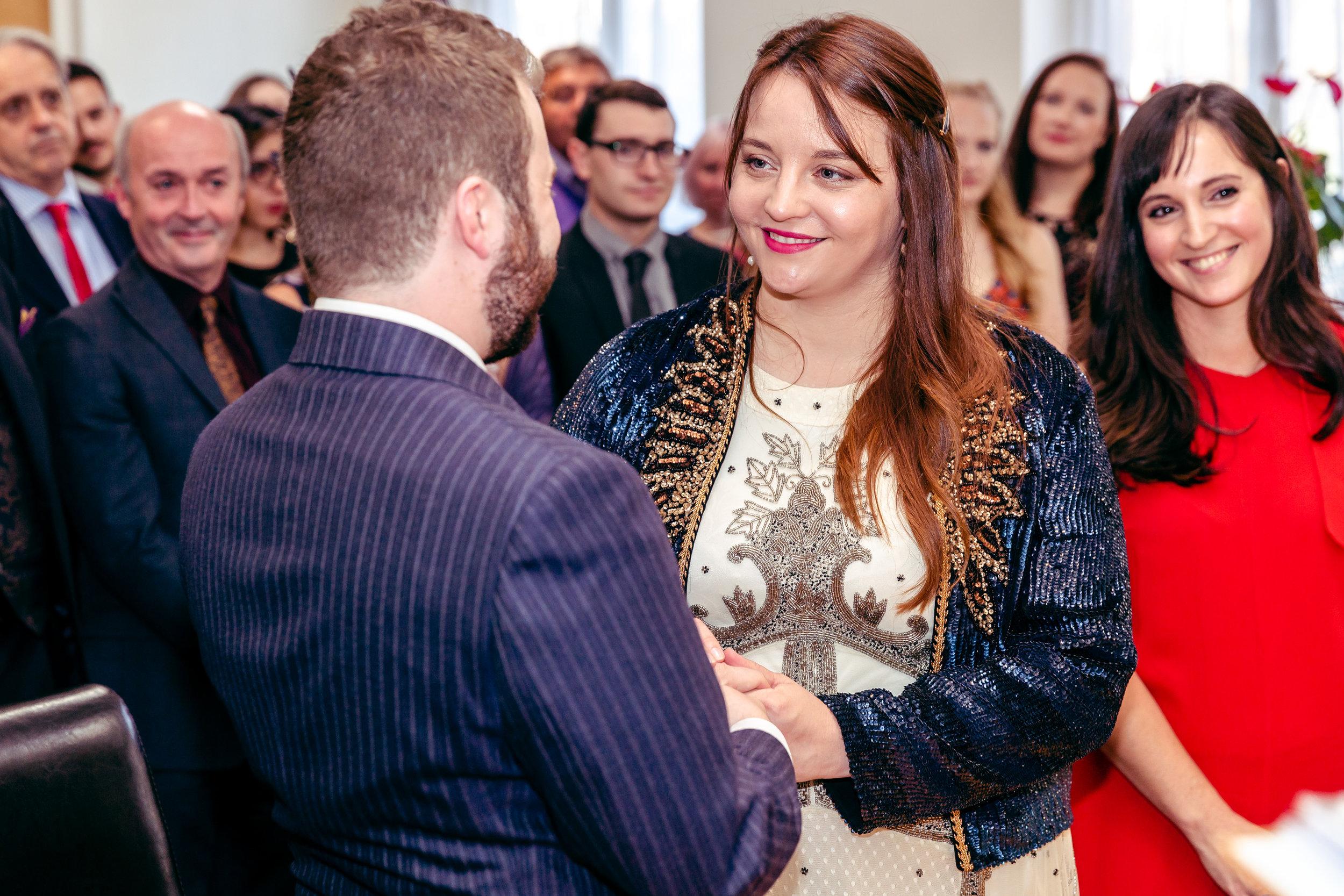 Registry office wedding - London 6