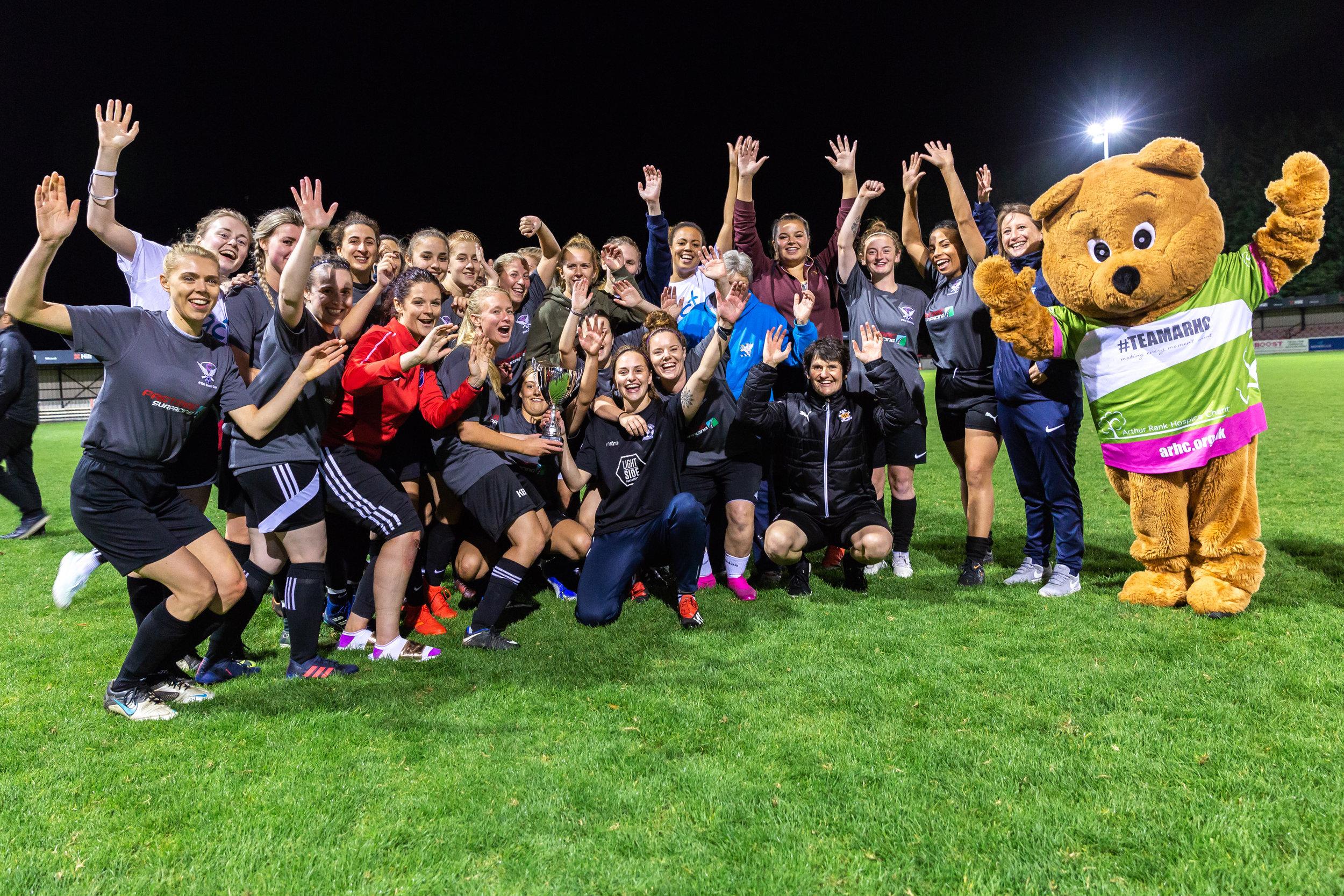 KICK CANCER CUP WINNERS 2019 - STEC XI