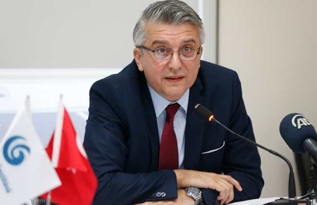 Turkish Ambassador to Lebanon Cagatay Erciyes discusses the July 15, 2016 coup attempt at a press conference at the Emre Turkish Cultural Center in Beirut on July 14, 2017. (The Daily Star/Mohammad Azakir)