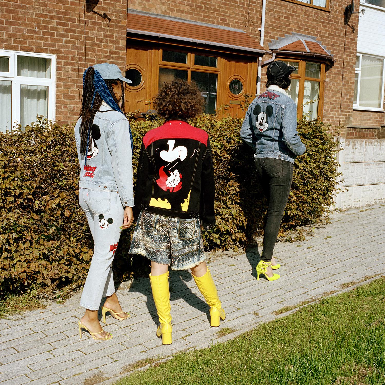 Jada, Jasmine and Holly. Manchester, 2018.