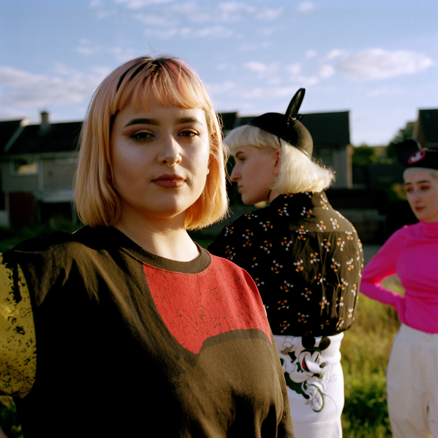 Bethan, Poppy and Miriam. Manchester, 2018.