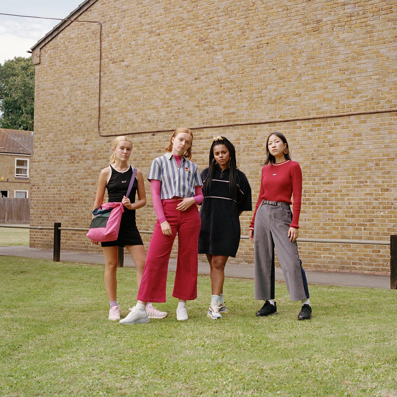 Morgan, Scarlett, Bella and Nicole. London, 2019.