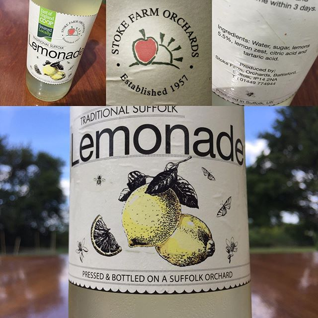 The Co-Op have many fabulous products, but the East of England Co-O0 is especially great as it stocks and truy champions local produce. This Lemonade from Stoke Farm Orchards is one of the many. Hardly any ingredients, it tastes just like you'd made it yourself. Utterly delicious and perfect for my picnic today. @eoecoop https://www.eastofengland.coop/food/sourced-locally/our-producers/stoke-farm-orchards  #lemonade #picnic #festivalfood #picnicfood #foodforpicnic #suffolkfood #suffolk #stowmarket
