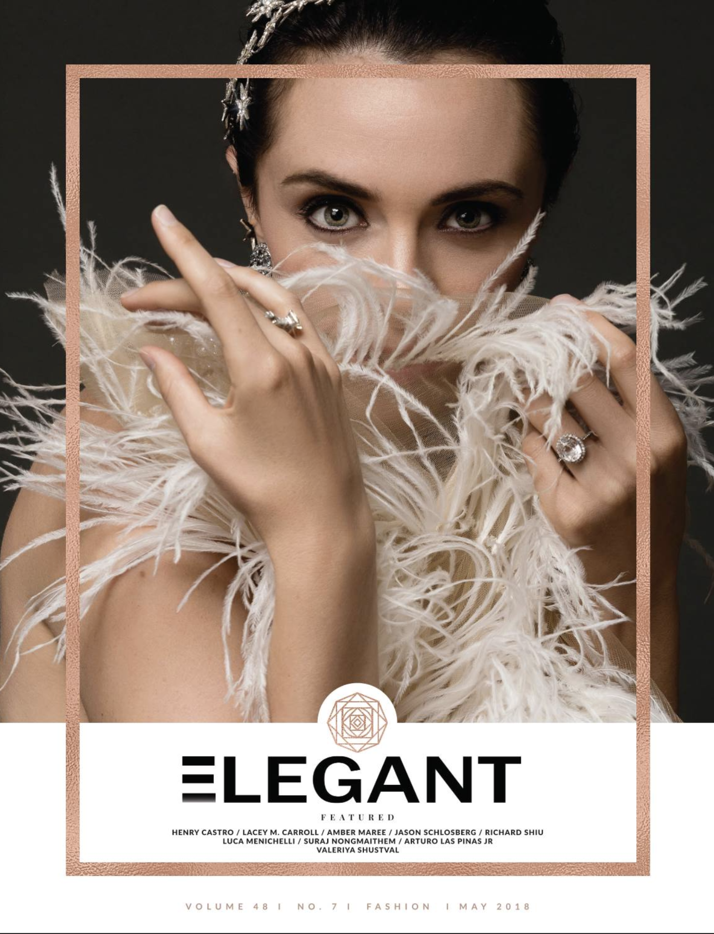 Elegant mag May print issue 7