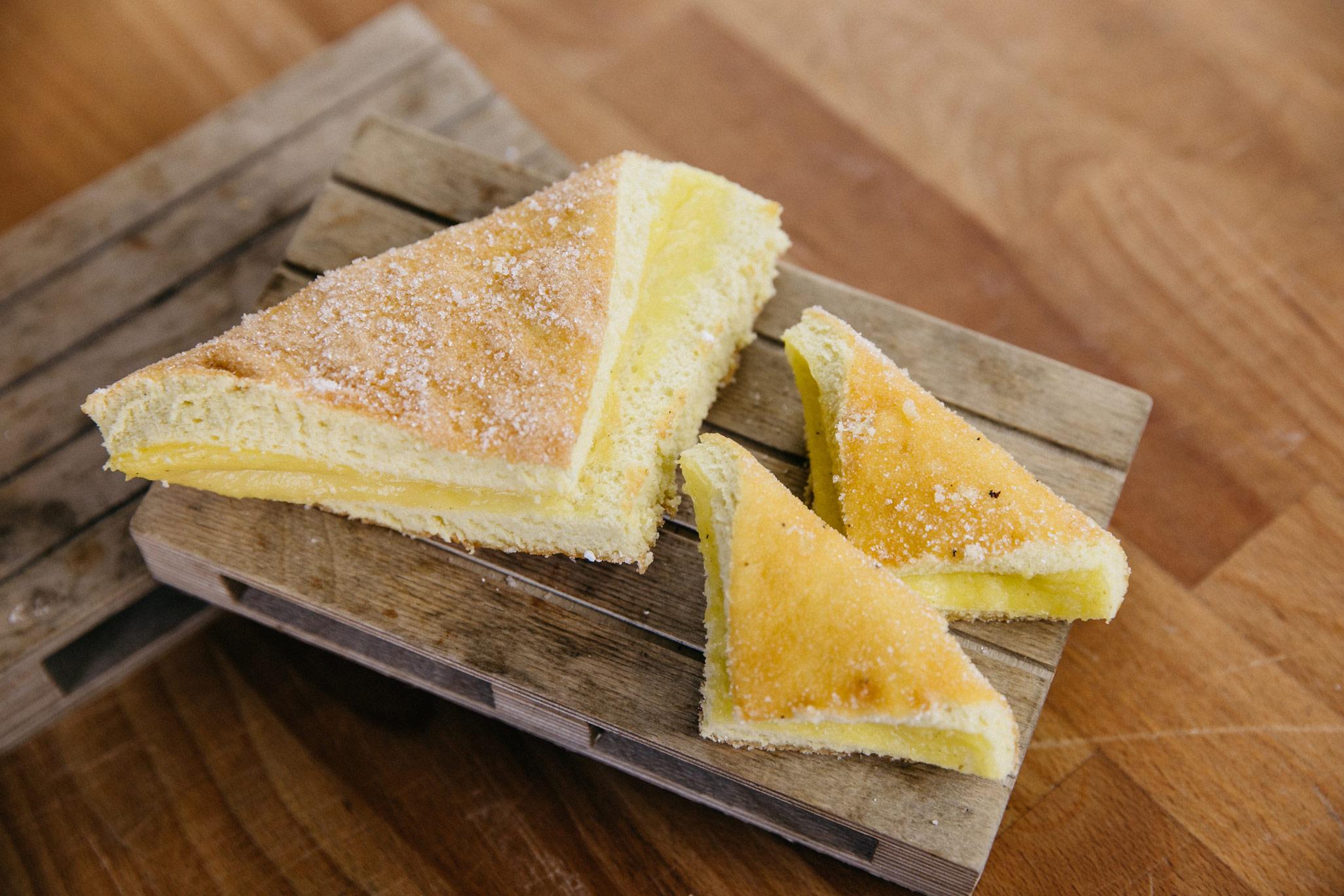 Vanilla biscuit corner
