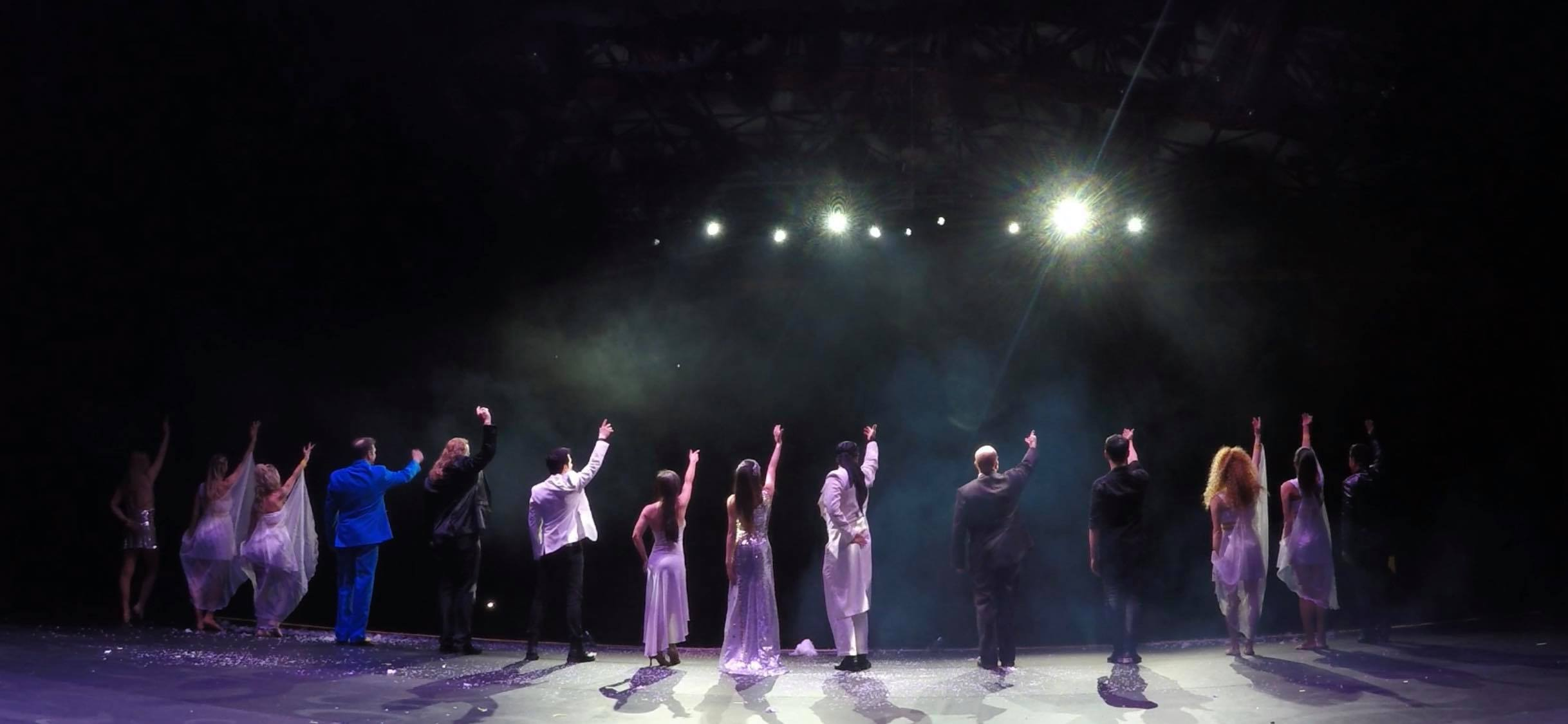 Final bows in Athens Greece!