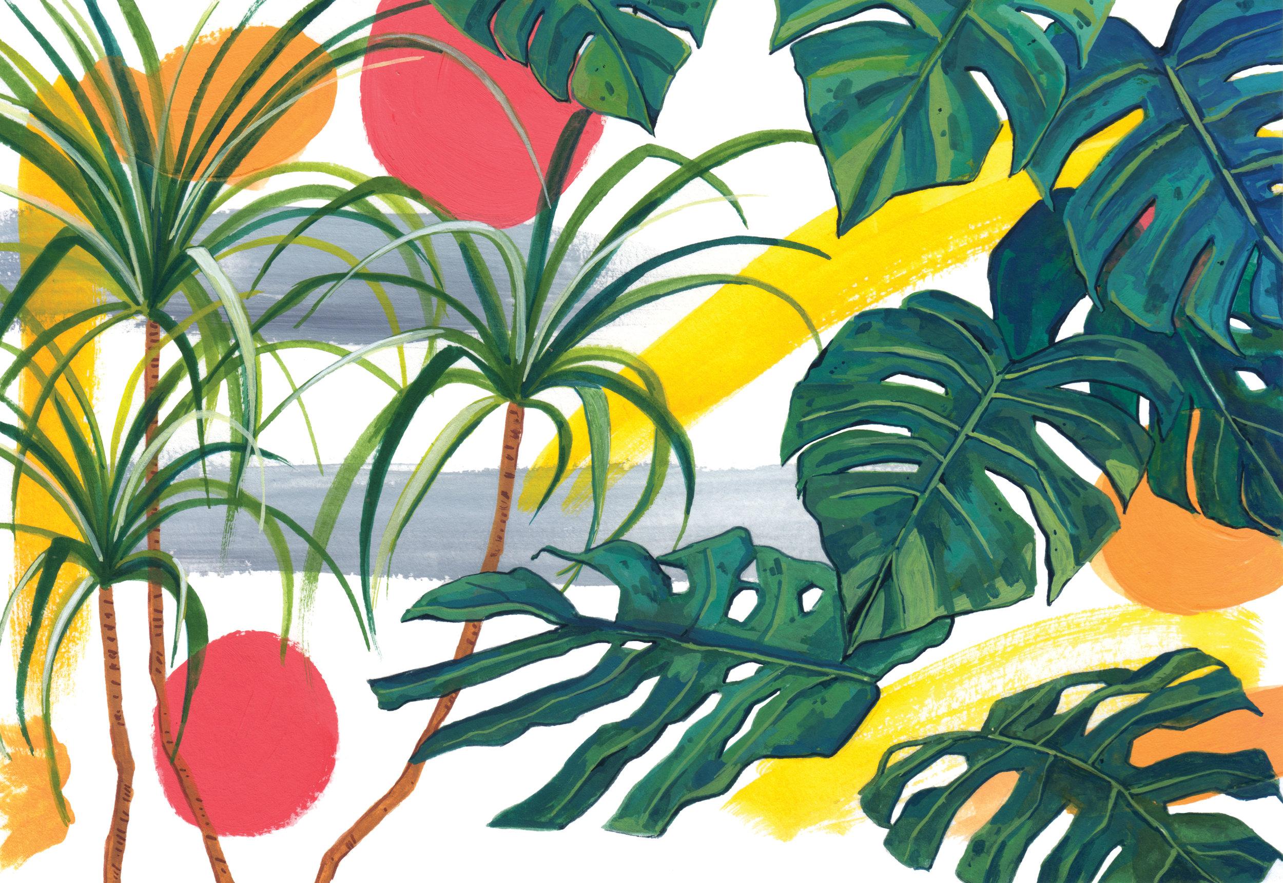 Tropical feels 1