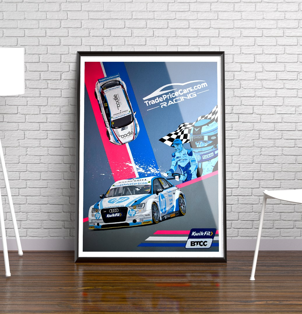 Ian Salmon Art - Trade Price Cars Racing - BTCC - Painting - Mock 4.jpg