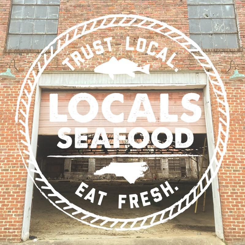 Locals Seafood - Locals is dedicated to bring fresh seafood hauled in by NC fishermen into the Triangle every day. They've been mainstays at the State Farmers Market and neighborhood farmers markets for years, and now they are going to bring their seafood know-how to both shop and table at Transfer Co. Fresh Outer Banks shrimp and soft-shelled crabs coming soon to a table near you.