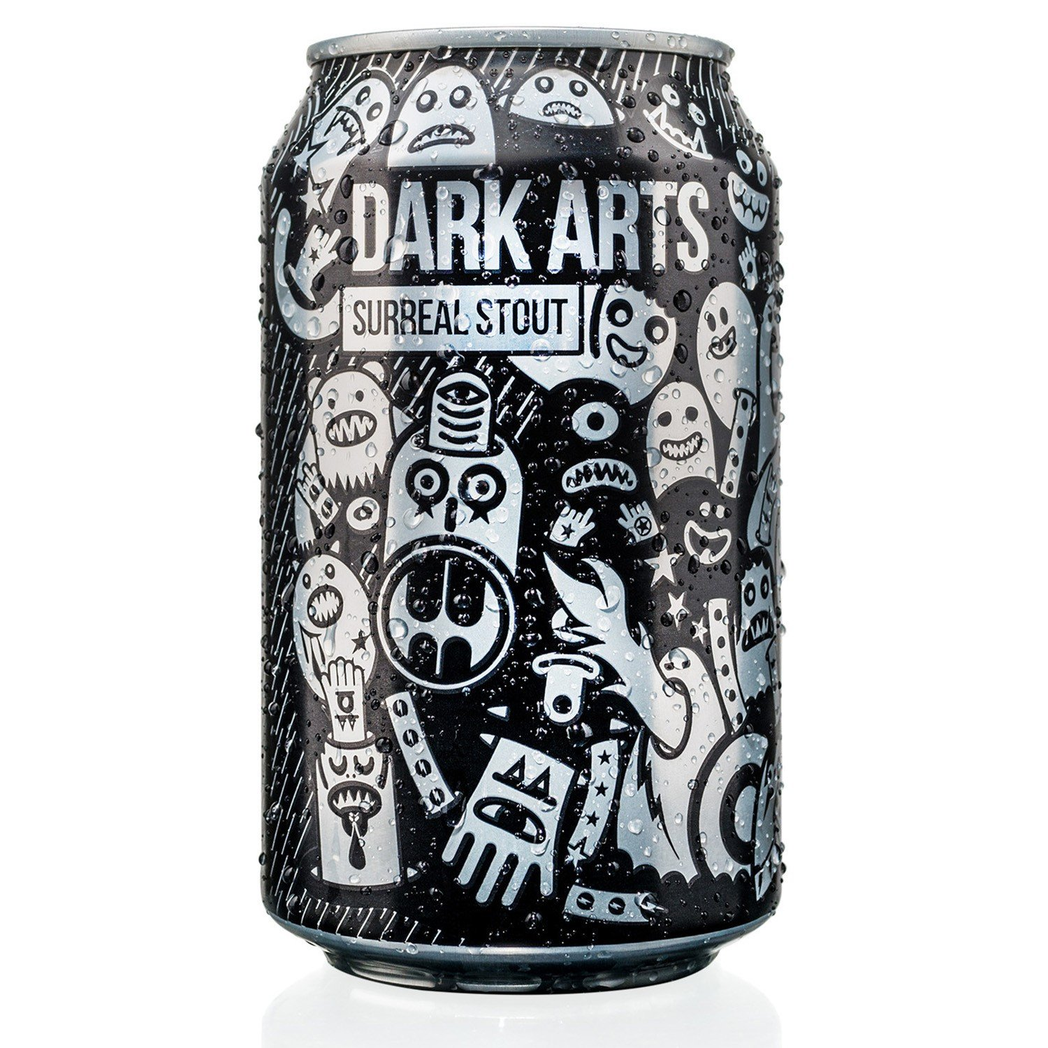 MAGIC ROCK DARK ARTS STOUT (6%ABV)  Four malts and bags of whole hops make a for a decadent deep and indulgent experience!  €2.95