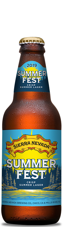 SIERRA NEVADA SUMMER FEST PILSNER (5.0%ABV)  Light refreshing pilsner with a hop aroma and tangy bite.  €2.95
