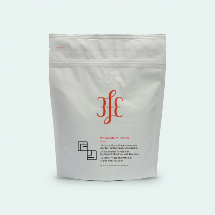 Farm: Various  Country: Costa Rica, El Salvador, Brazil  Processing Method: Pulped Natural & Yellow Honey  Coffee Varietal: Various  Tasting Notes: Sweet, Nutty, Chocolatey, Smooth  Price: €11