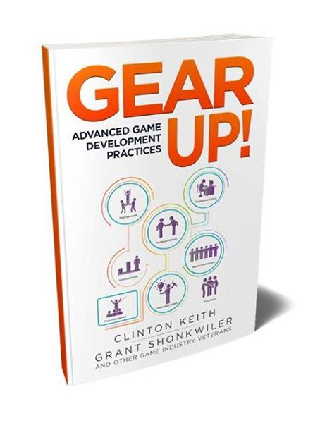 Buy my book!  - I had the honor to collaborate with Clinton Keith on a book about game production and leadership. We wrote and curated this book around our GDC 2017 workshop, it is a handbook for team development. You can purchase the book at advancedgamepractices.com