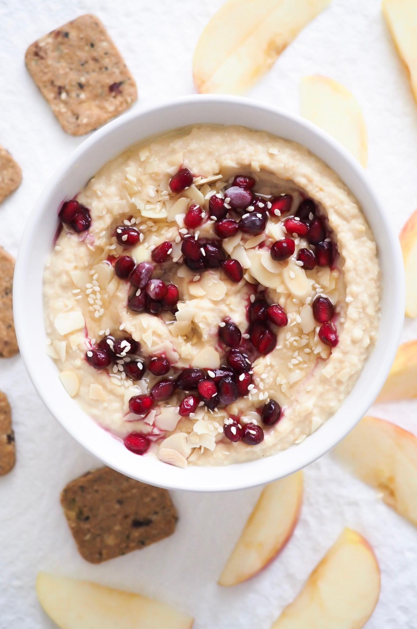 Honey Nut Hummus - Kris Gill