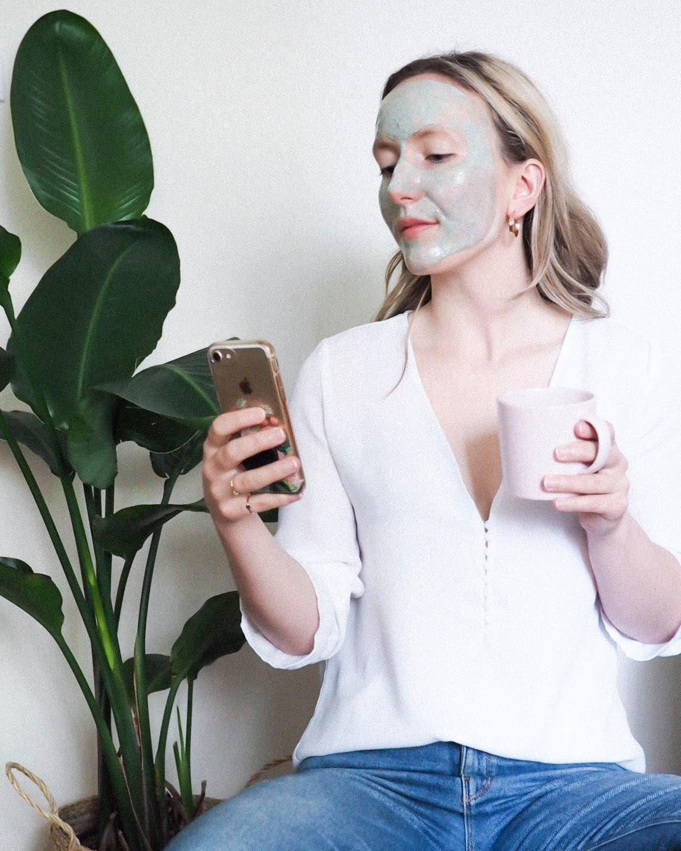 DIY Nourishing Face Mask - Kris Gill