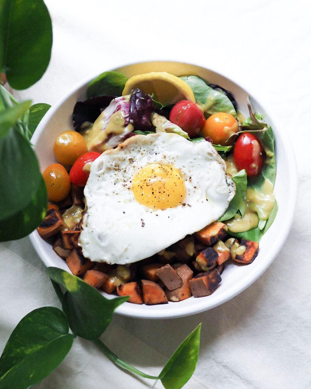 Breakfast Salad Bowl- Kris Gill