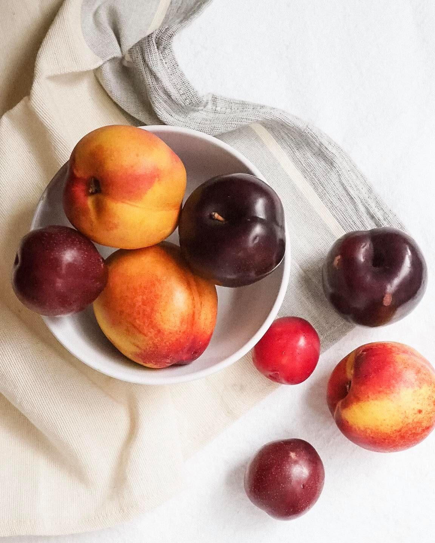 Summer Stone Fruit Crumble - Kris Gill