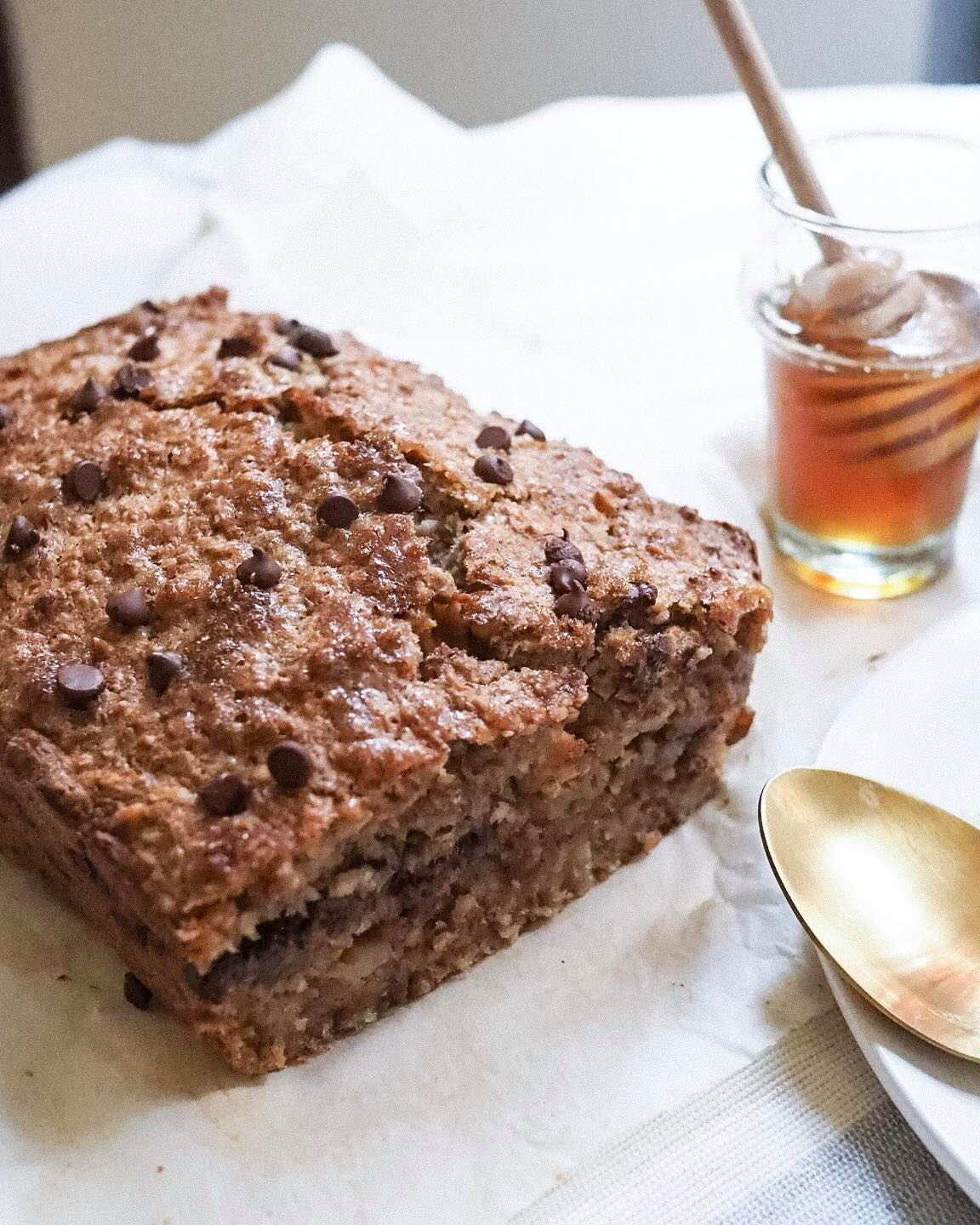 Plant-Based Banana Bread - Kris Gill