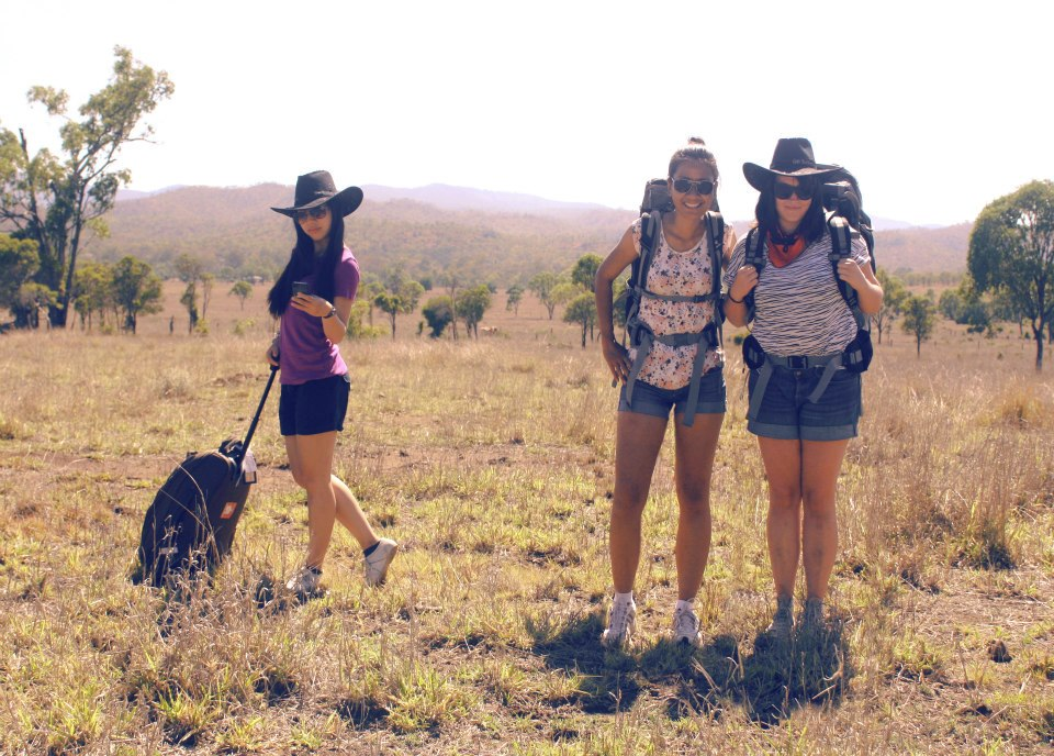 December 2012. Embracing the stereotype of backpacking in the Australian outback with Ching and Viriya, who I had met a week earlier. A few years later I visited them in Thailand where we did another road trip outside Bangkok (hey, isn't it time for the third edition of Yumcha trip soon?!).  Also, #foreverawkwardposer.