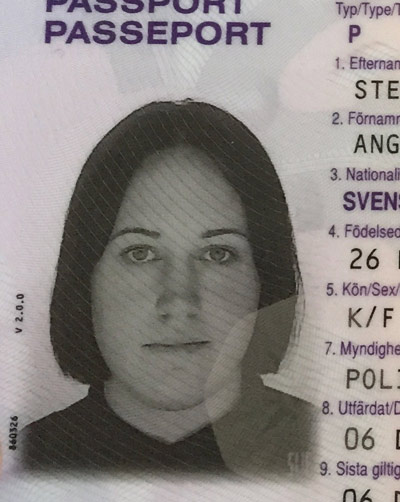 Passport photo 2011. I mean, the cut was good. Just not on my face.