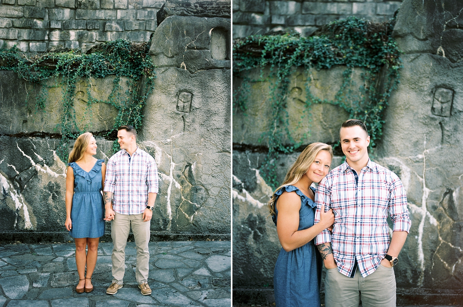 Kathryn Frugé Cincinnati Ohio Film Photographer Engagement Garden of Hope Courtney and Jason 2017 The FIND Lab Kodak Portra 400 Pushed_0008.jpg